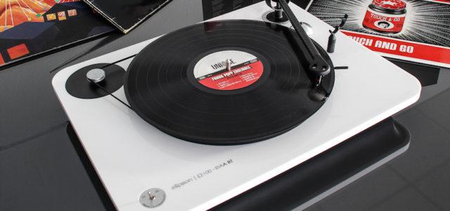 Plattenspieler Elipson Omega 100 RIAA BT – Alleskönner mit Bluetooth und USB für Streaming und Recording