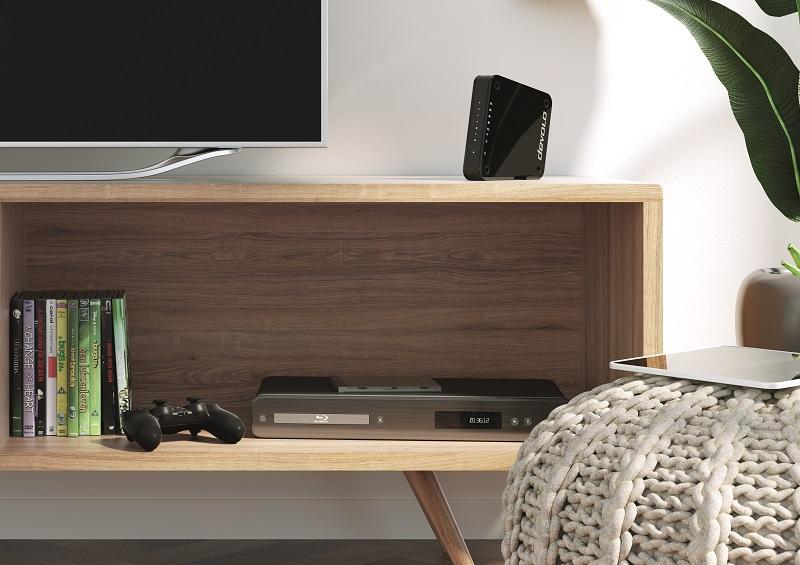 Eine schnelle Internetverbindung ist eine wichtige Voraussetzung für Multimedia-Geräte wie Smart-TV oder Spielkonsole - und dank Devolos GigaGate kein Problem mehr.