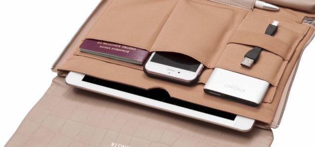 Digitale Clutch: KNOMO präsentiert die Elektronista in neuen Farben