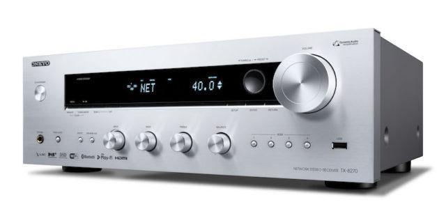 TX-8270: Netzwerk-Stereo-Receiver von Onkyo mit HDMI® und Multiroom