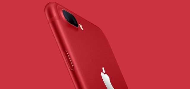Apple stellt iPhone 7 & iPhone 7 Plus (PRODUCT)RED Special Edition vor