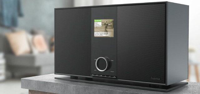 Digitalradio Hama DIR3600MBT – Schwergewicht mit viel feiner Technik