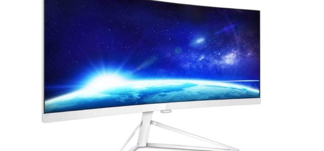 Panoramablick: Philips Curved-Monitor-Serie wächst mit neuem 34-Zoll-Display
