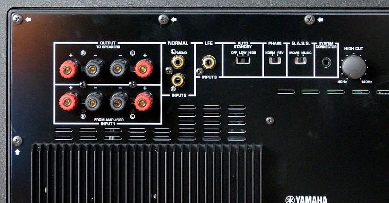 Die vielfältigen Anschlussoptionen ermöglichen ein Zusammenspiel mit so ziemlich jedem AV-Receiver oder Verstärker.
