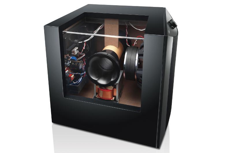 Die durchdachte Konstruktion des NS-SW1000 ist bei Yamaha völlig normal - man darf sie aber trotzdem explizit lobend erwähnen.