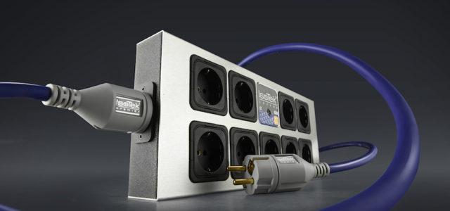 Mehrfach-Netzleiste IsoTek EVO3 Corvus – Verteiler und Verteidiger des reinen Stroms