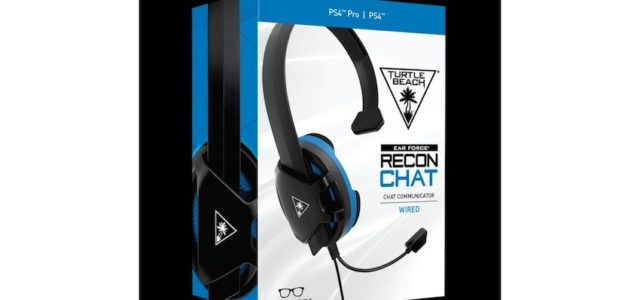 Turtle Beach kündigt RECON CHAT-GAMING-HEADSETS für PS4 und Xbox One an