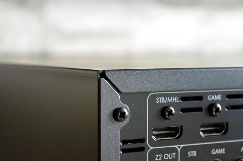 Die hochwertige Verarbeitung reicht bis in die hintersten Winkel des SR250.
