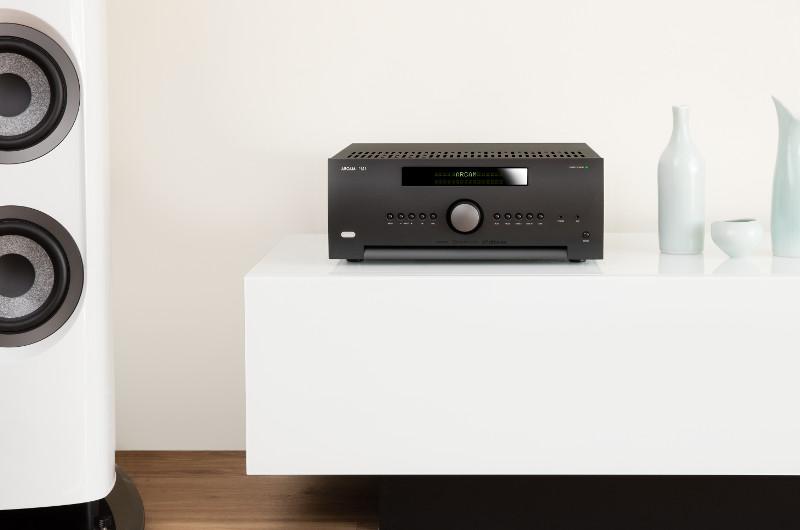 Der SR250 sorgt auch bei begrenzten Platzverhältnissen für herausragende Klangqualität für HiFi und Heimkino.
