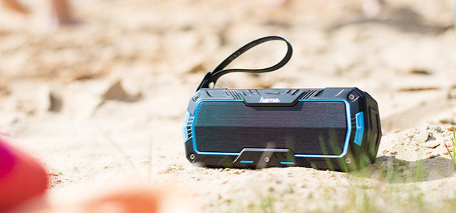 Bluetooth-Lautsprecher Hama Rockman L – Die Leichtigkeit des Sommers