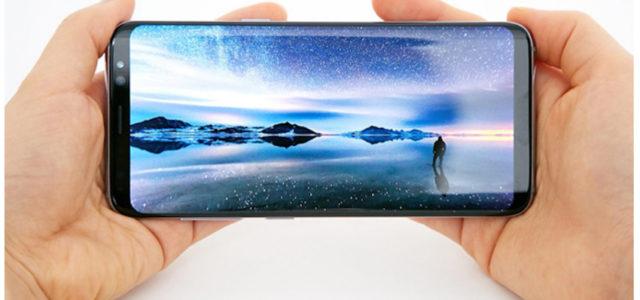 Mehr sehen, mehr schaffen: Das Display des Galaxy S8 und Galaxy S8+