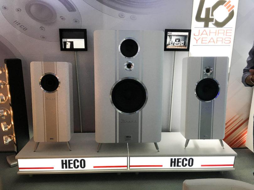 Alle Jahre wieder: Heco legt nach und erweitert seine Direkt-Serie ... mit der Einklang (links).