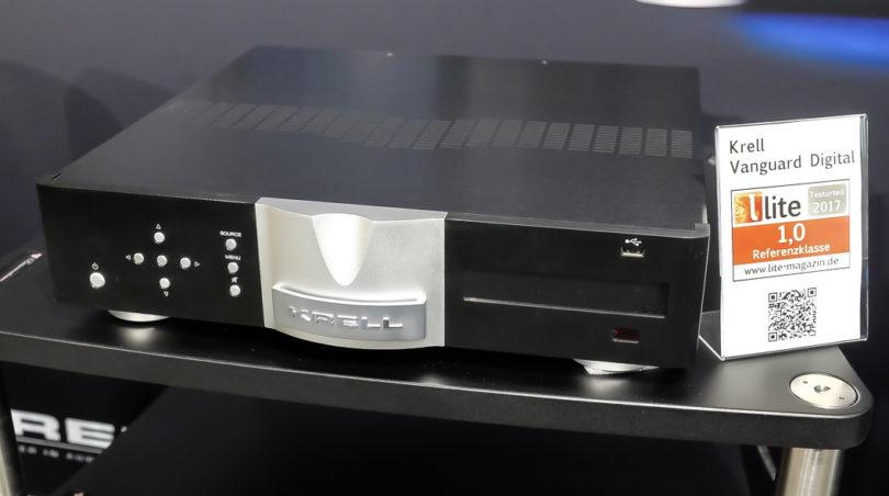 """Audiophiler Avantgardist: Der Vollverstärker Krell Vanguard ist modular aufgebaut, in der Vollaustattung als Digital Vanguard bietet er zahlreiche Schnittstellen von TOSLink bis HDMI und erweist sich damit als zeitgemäß und zukunftsfähig (Preise: 5.940 Euro als Basis-Version """"Vanguard"""",  7.840 Euro als Version """"Digital Vanguard"""")."""