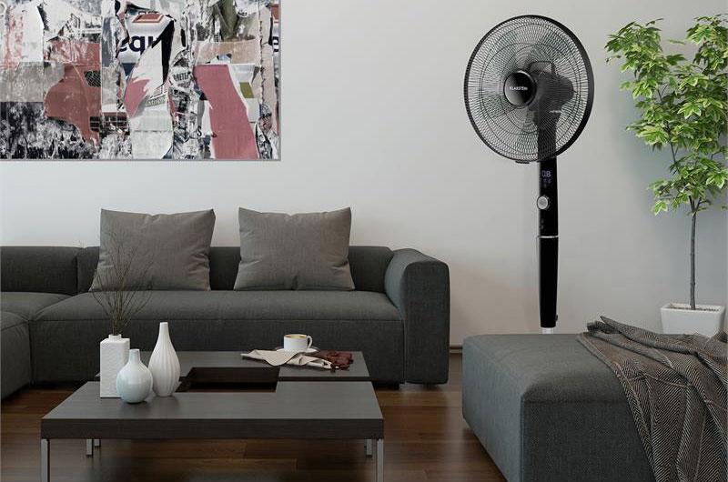 Der Silent Storm bringt auch optisch ordentlich frischen Wind ins Zimmer.