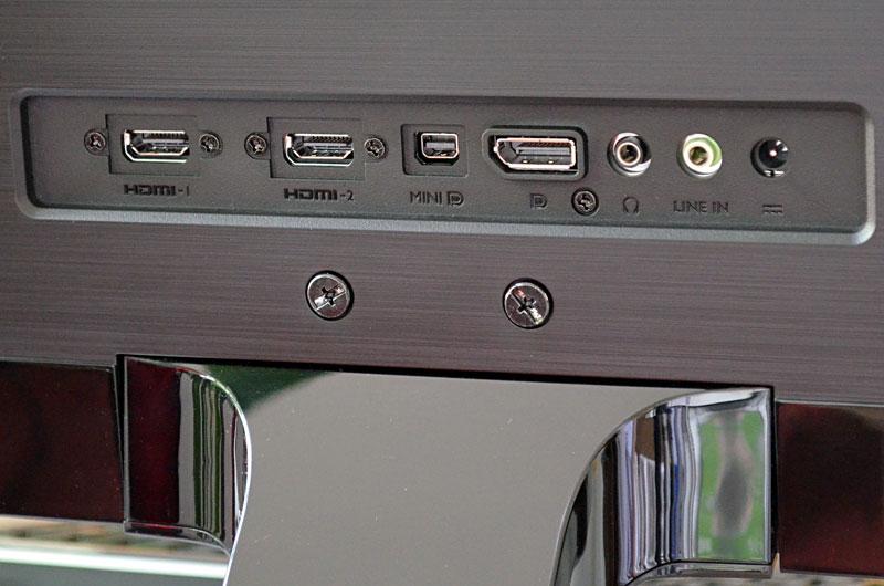 Die Anschlussvielfalt des EW3270ZL zeigt, dass hier nicht nur ein PC Anschluss finden muss.