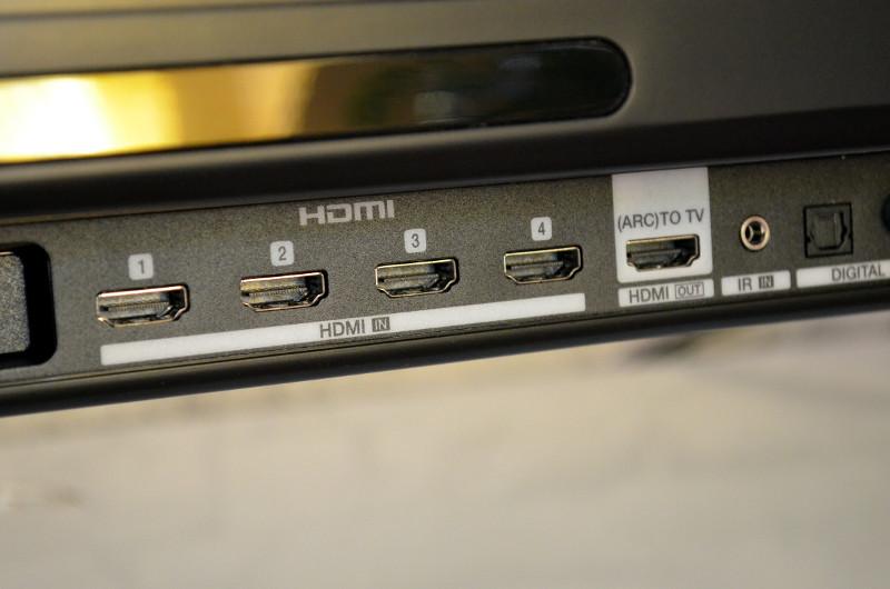 Mit vier Eingängen und einem ARC-fähigen Anschluss bietet die Heos Bar eine Menge HDMI-Anschlüsse für alle benötigten Geräte.