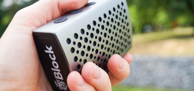 Bluetooth-Speaker Block Connect:One – niedliche Größe, erwachsener Sound