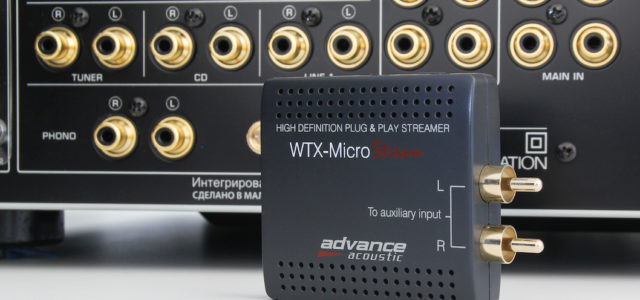 Advance Acoustic WTX Microstream – HiRes-Streaming-Adapter mit Multiroomfunktion