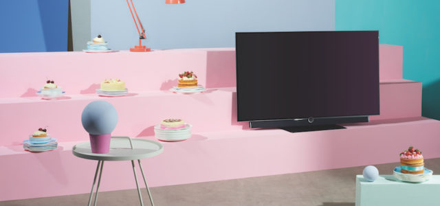 neuheit loewe lanciert bild 4 oled fernseher lite das. Black Bedroom Furniture Sets. Home Design Ideas