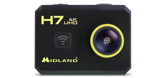 Midland H7+: Action Cam für schnelle und scharfeAufnahmen