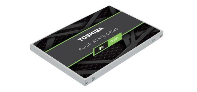 Toshiba präsentiert Retail-SSD-Serie TR200 SATA mit 64-Layer-3D-Flashspeicher
