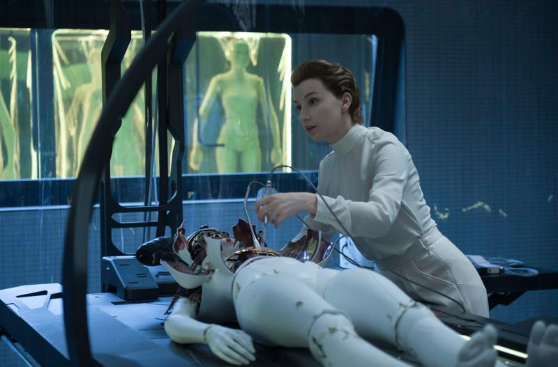 Das Besondere an Killian: Sie ist ein Cyborg, ihr menschlicher Geist steckt in einem künstlichen Körper. (© Paramount Pictures. Alle Rechte vorbehalten.)