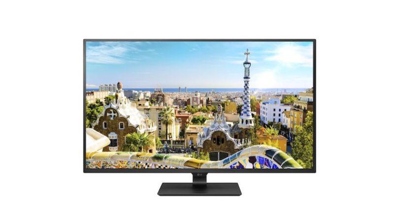 LG: Viermal so scharf wie Full HD, vier HDMI-Anschlüsse und eine Arbeitsfläche, die so groß ist wie vier 22 Zoll Business-Monitore auf einmal.