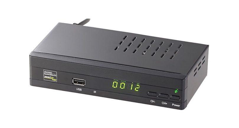 Zukunftsichere Satelliten-TV-Ausstattung: Jetzt empfängt man Fernseh-Sender auch hochauflösend in HD! Per HDMI werden sie vom auvisio DSR-460 in bester Qualität auf den TV übertragen.