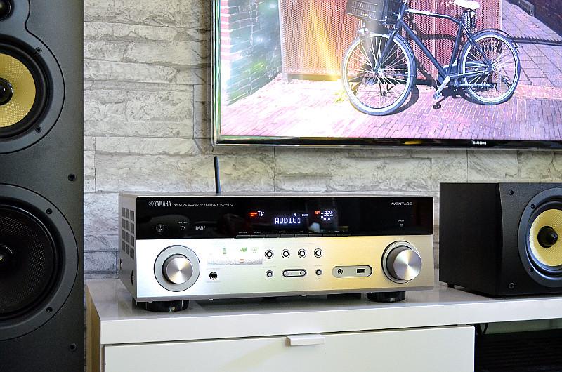 Moderner Look und zukunftsorientierte Ausstattung: Der 7.2-AV-Receiver RX-A670 von Yamaha hat einiges zu bieten.