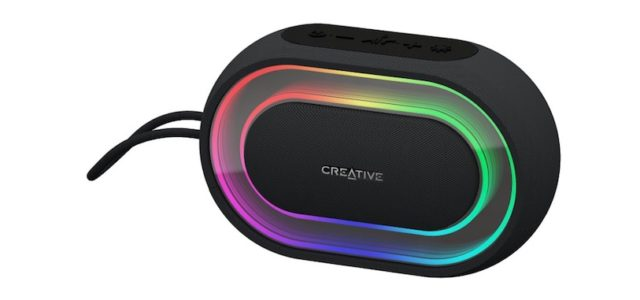 Creative Halo: Tragbarer Bluetooth®-Lautsprecher mit Lightshow angekündigt