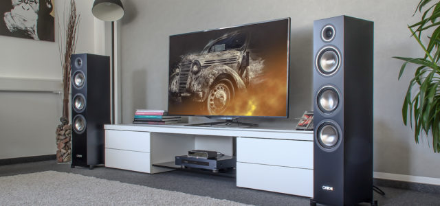 Canton C 500 Aktiv Set – HiFi in Stereo, Heimkino in Surround