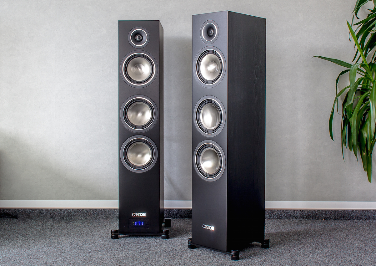 Super Canton C 500 Aktiv Set – HiFi in Stereo, Heimkino in Surround GU-97