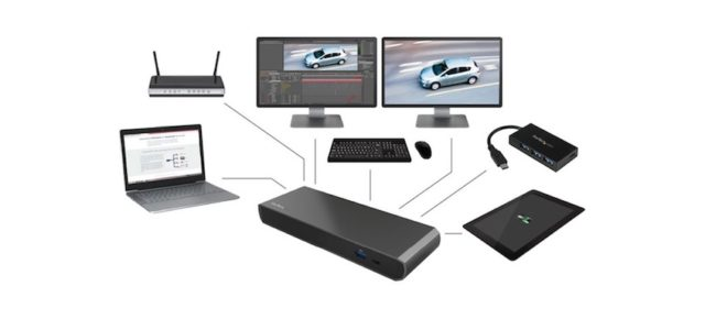 Neue Thunderbolt™ 3 Dockingstation mit Power Delivery 2.0