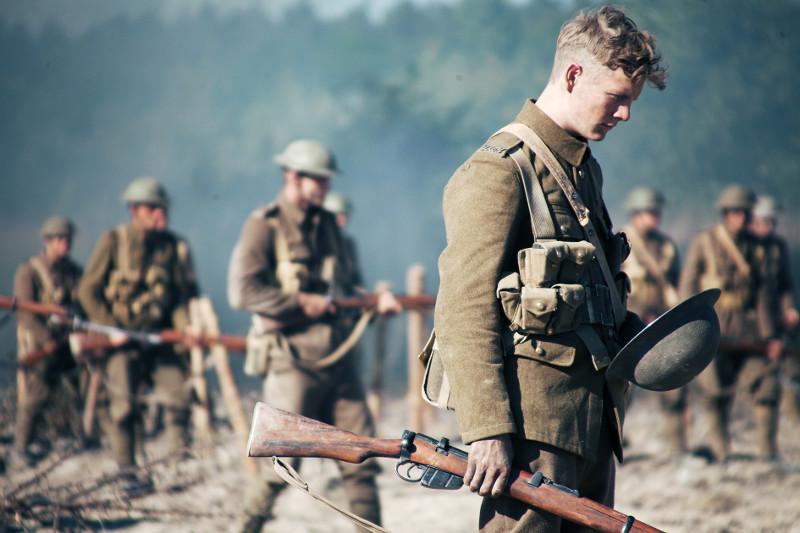 Erst auf dem Schlachtfeld im Angesicht des Todes begreifen die jungen Männer die Sinnlosigkeit und das Grauen des Krieges. (© Pandastorm Pictures)