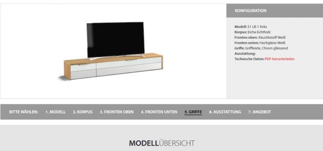 Mit den Möbel-Konfiguratoren von Schnepel zum Wunschmöbel!