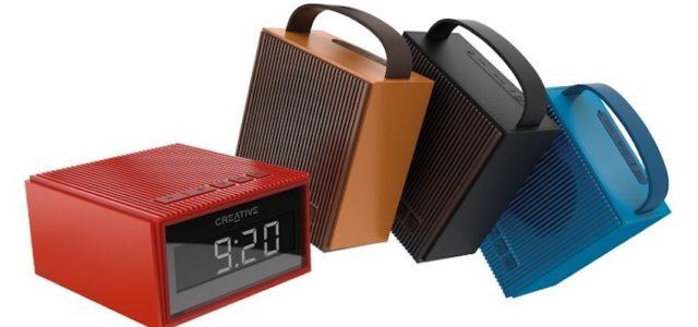 Creative ChronoTM: Bluetooth®-Lautsprecher mit integriertem Radiowecker