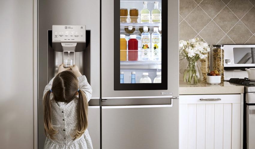 Kühlschrank Lg : Lg kühlschränke von der einfachen kühlbox zum smarten hightech