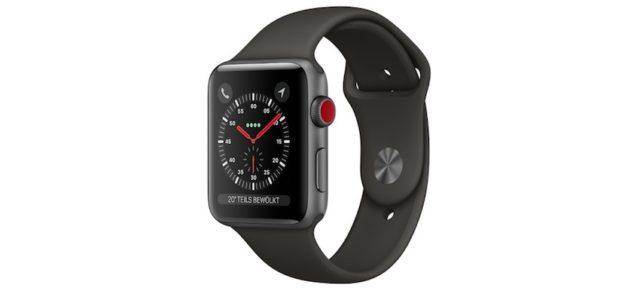 Apple Watch Series 3 bringt integrierten Mobilfunk