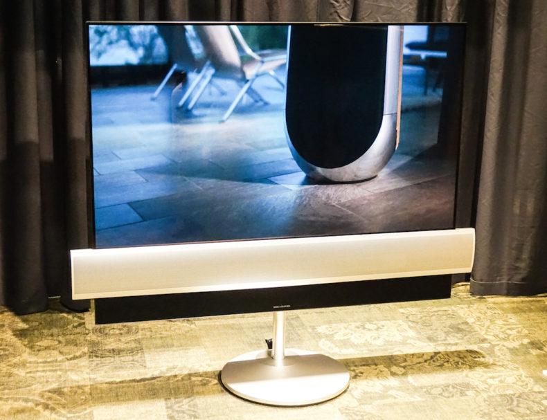 Fernseher von Bang & Olufsen? Die Edelklangschmiede ist eine Partnerschaft mit LG eingegangen, herausgekommen ist das BeoVision Eclipse: Es ist sowohl Fernseher als auch Audiosystem.