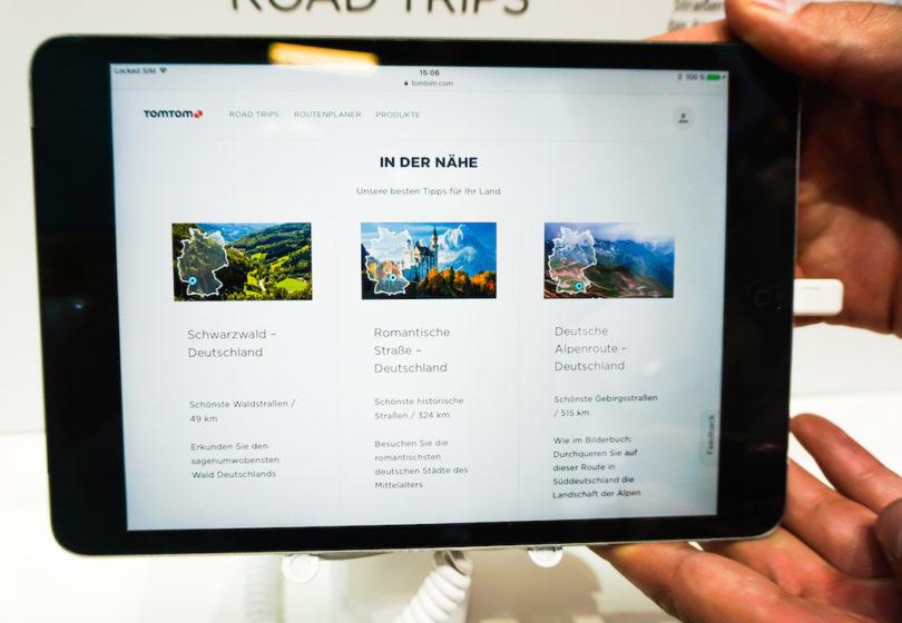 Schöner Reisen: Viele Fahrer suchen nicht die kürzeste, sondern die interessanteste Route. TomTom hat deshalb eine App für Smartphone und Tablet entwickelt, mit der man die Sehenswürdigkeiten entlang der Strecke entdeckt – natürlich kann man die Routen selbst verändern, erweitern und abspeichern...
