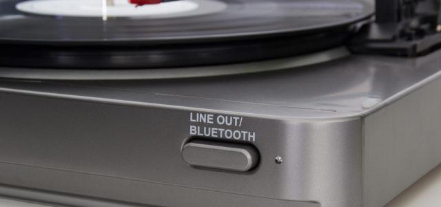 Bluetooth-Plattenspieler Auna TT-10 BT – Zurück in die Zukunft