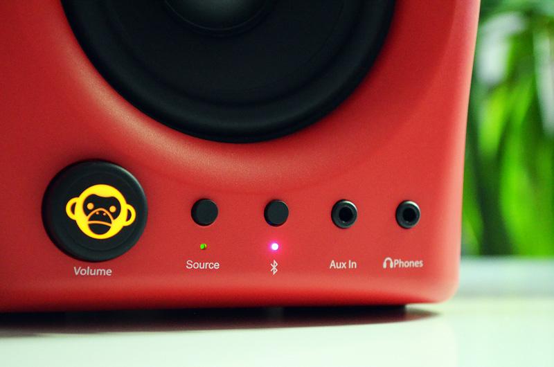 Auch der Anschluss via Bluetooth ist möglich, hier genügt ein Tastendruck.