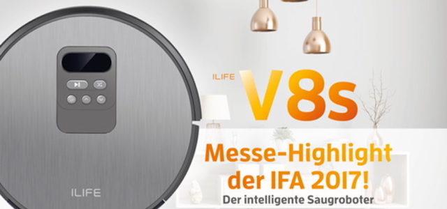 ILIFE Saug- und Wischroboter räumt Innovationspreis auf der IFA ab