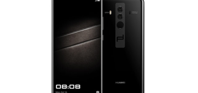 Porsche Design HUAWEI Mate10: ultimativer Luxus gepaart mit funktionalem Design