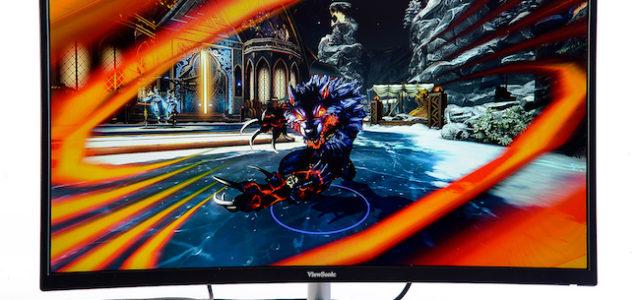 ViewSonic XG3202-C – 82 Zentimeter Bilddiagonale im Curved-Design für riesigen Gaming-Spaß
