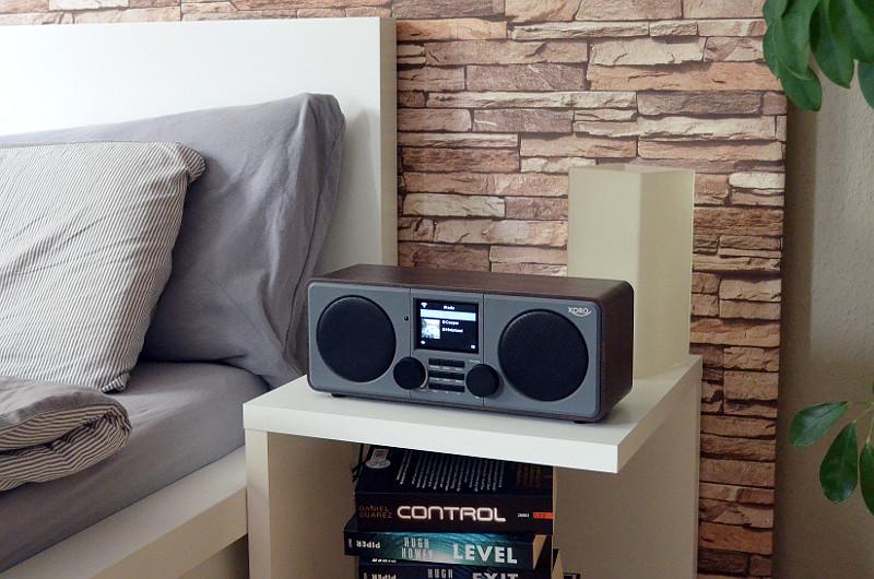 Dank vielseitigem Funktionsumfang inklusive Wecker und seinem edlen Design ist das DAB 600 IR auch im Schlafzimmer gut aufgehoben.
