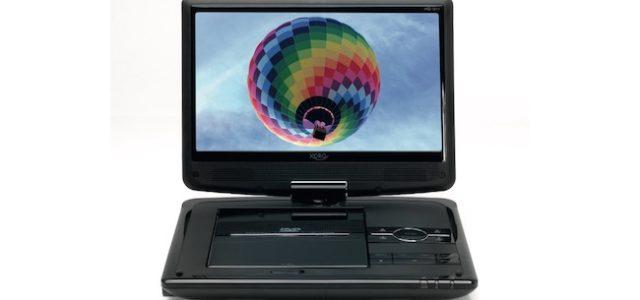 XORO HSD 1011 – Unterwegs fernsehen und DVDs ansehen – immer und überall!