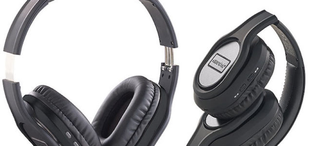 Pearl auvisio Faltbares ANC Noise-Cancelling Over-Ear-Headset