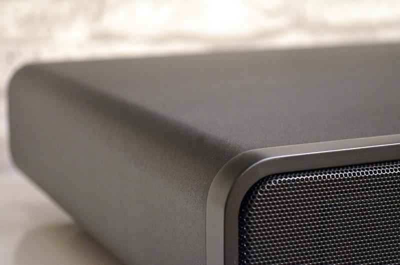 Sauber verarbeitet und mit ebener Standfläche für den Fernseher - die M2 verbindet Funktionalität und gelungene Optik.