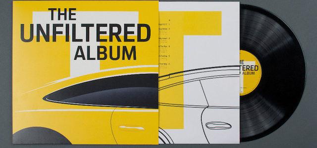 Compilation auf Vinyl zum Launch des neuen 911 Carrera T